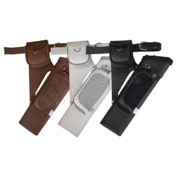 Gompy PT18 2 Pocket Leather/Suede Quiver - Colours