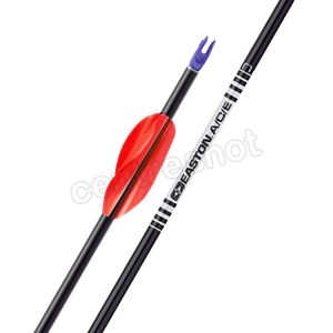 Easton ACE Arrows (with Spin Wings) x 12