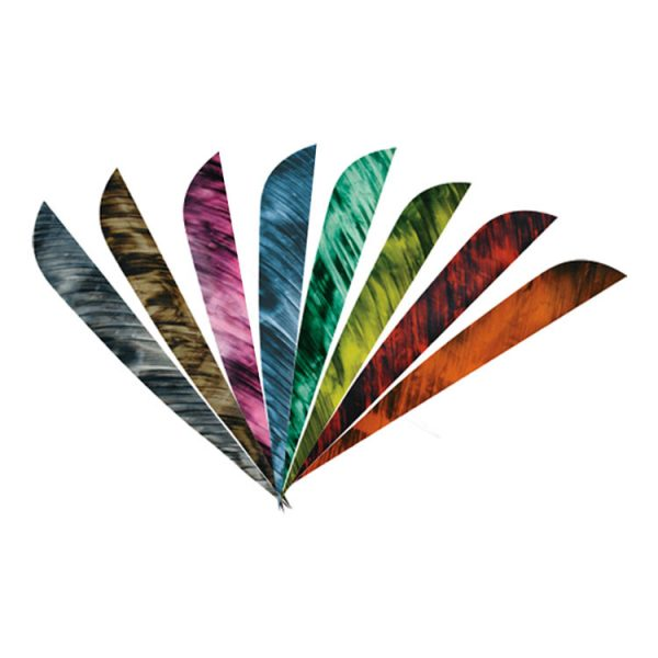4 Inch Camouflage Feathers