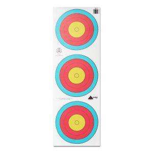 3 x 20cm FITA Target Face (Bulk Buy)