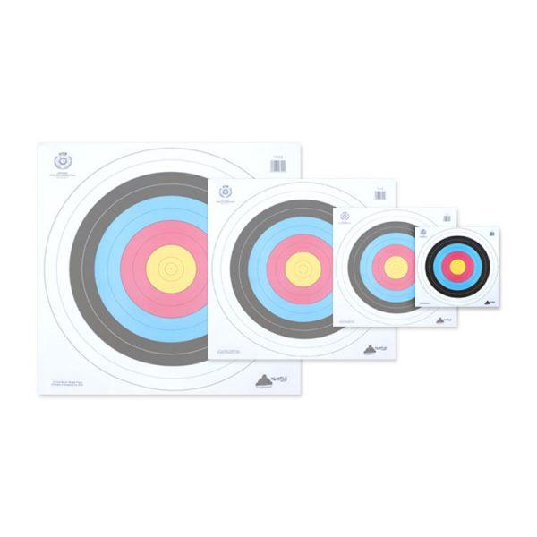40cm FITA Target Face (Bulk Buy)