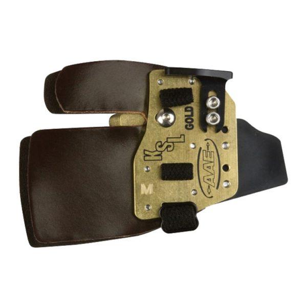 Arizona KSL Gold Super Leather Tab Brass