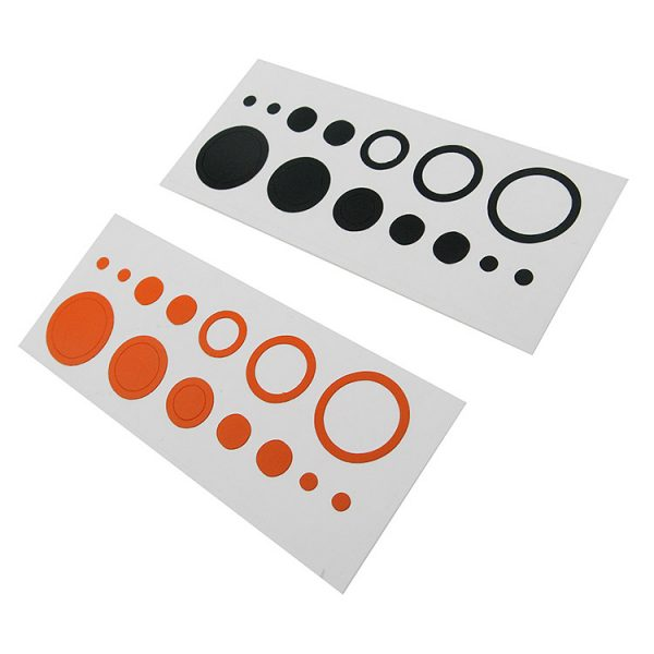 Mybo Ten Zone Fibre Optic Scope - Lens Decals