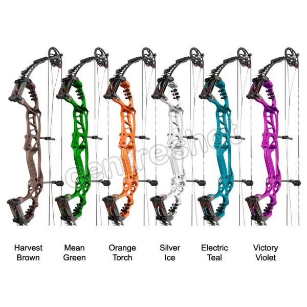 Hoyt Pro Comp Elite FX 2015 Target Compound Bow - Colours