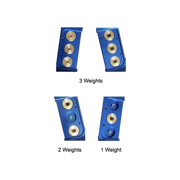 Gillo G1 Weights Kit - In Riser