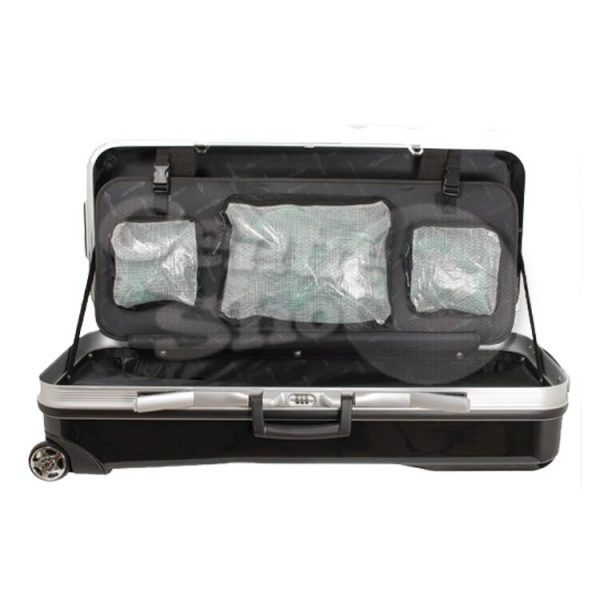 Avalon Tec-One ABS Recurve Case with Wheels inside